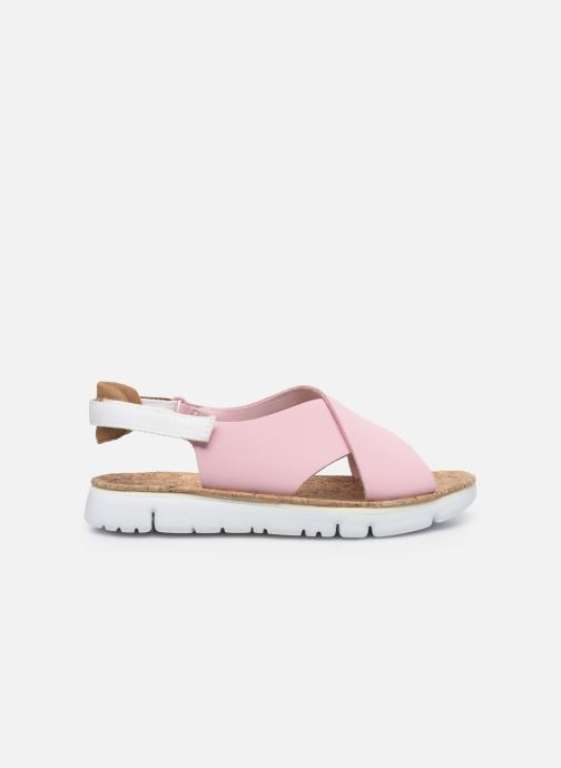 Sandalen Camper ORUGA W rosa ansicht von hinten