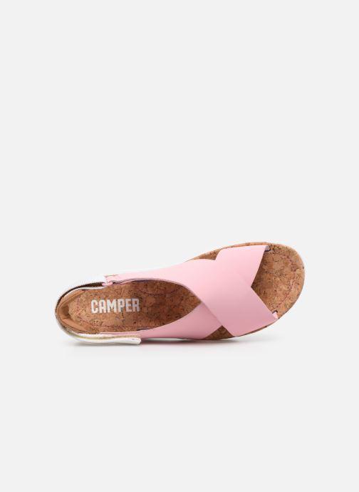 Sandalen Camper ORUGA W rosa ansicht von links
