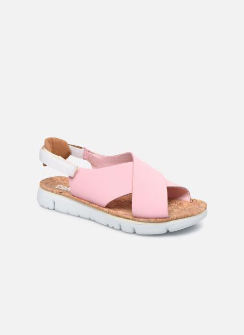 Sandalen Camper ORUGA W rosa detaillierte ansicht/modell