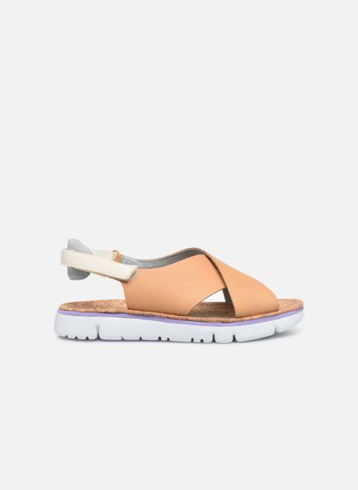 Sandali e scarpe aperte Camper ORUGA W Marrone immagine posteriore
