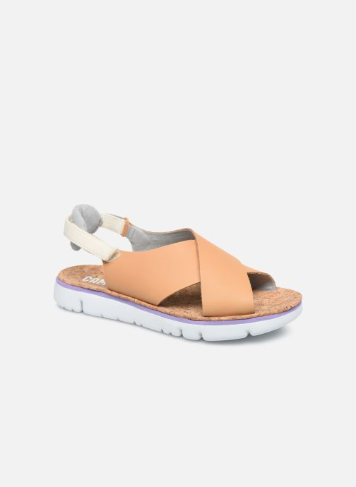 Sandalen Camper ORUGA W braun detaillierte ansicht/modell