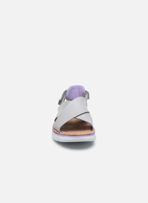 Sandali e scarpe aperte Camper ORUGA W Grigio modello indossato