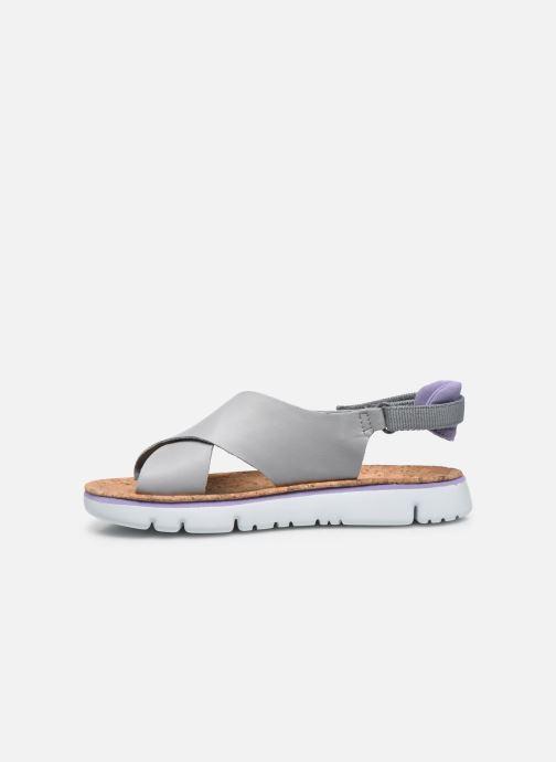 Sandali e scarpe aperte Camper ORUGA W Grigio immagine frontale