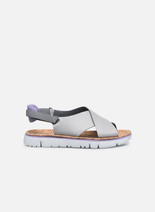 Sandali e scarpe aperte Camper ORUGA W Grigio immagine posteriore