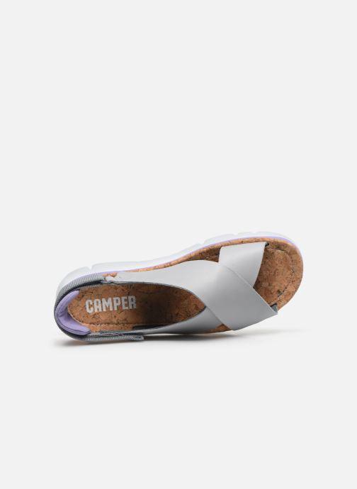 Sandali e scarpe aperte Camper ORUGA W Grigio immagine sinistra