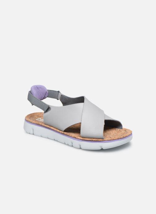 Sandalen Camper ORUGA W grau detaillierte ansicht/modell