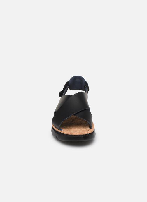 Sandalen Camper ORUGA W schwarz schuhe getragen
