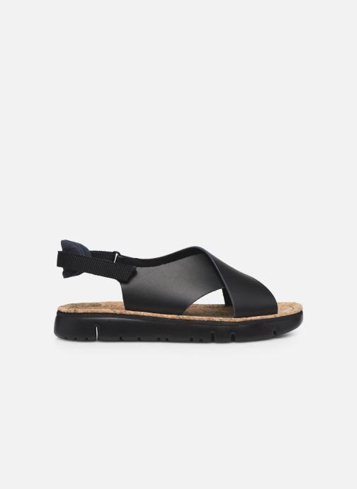 Sandalen Camper ORUGA W schwarz ansicht von hinten