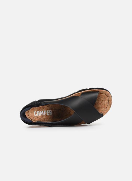 Sandalen Camper ORUGA W schwarz ansicht von links