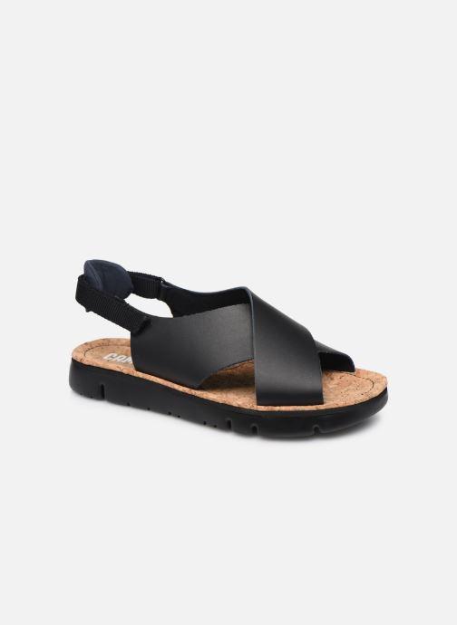 Sandalen Camper ORUGA W schwarz detaillierte ansicht/modell