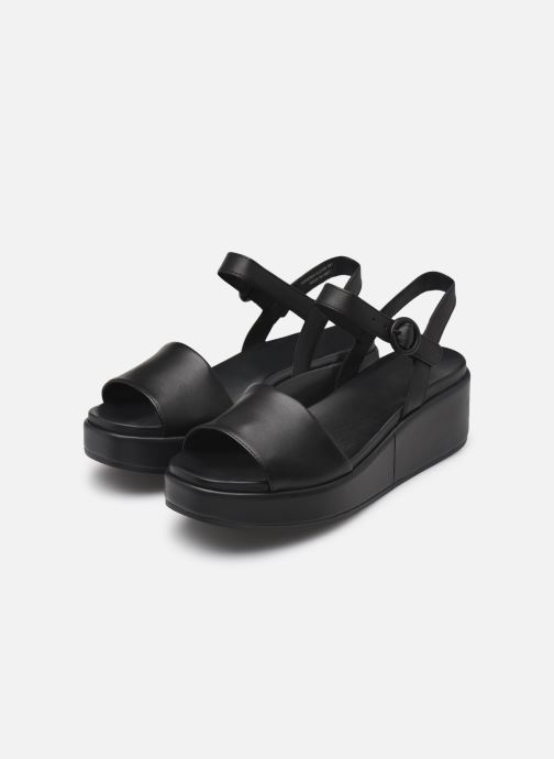 Sandales et nu-pieds Camper MISIA Noir vue bas / vue portée sac