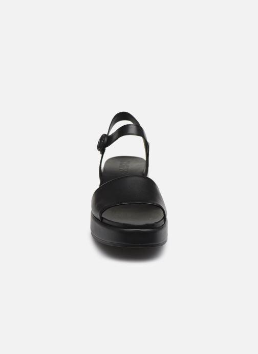 Sandales et nu-pieds Camper MISIA Noir vue portées chaussures
