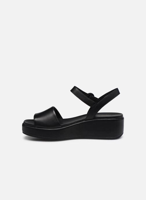 Sandales et nu-pieds Camper MISIA Noir vue face