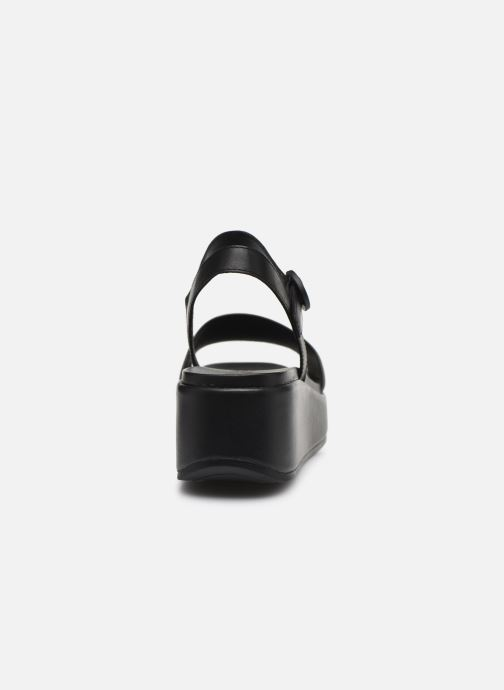 Sandales et nu-pieds Camper MISIA Noir vue droite