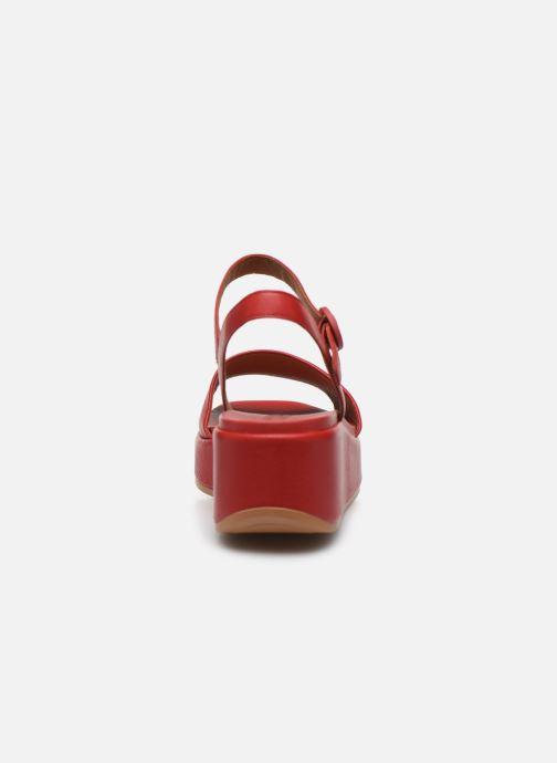 Sandales et nu-pieds Camper MISIA Rouge vue droite
