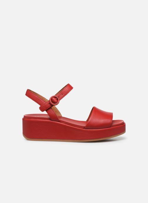 Sandales et nu-pieds Camper MISIA Rouge vue derrière