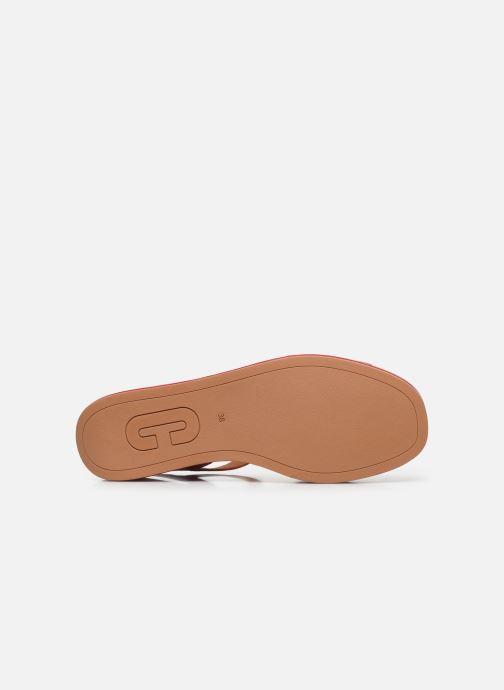 Sandales et nu-pieds Camper MISIA Rouge vue haut