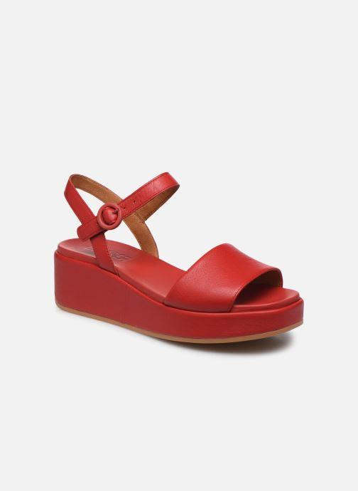 Sandales et nu-pieds Camper MISIA Rouge vue détail/paire