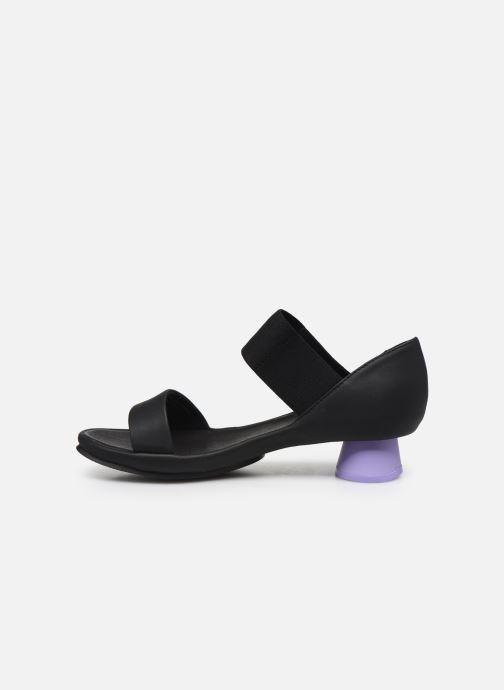 Sandali e scarpe aperte Camper ALRIGHT II Nero immagine frontale
