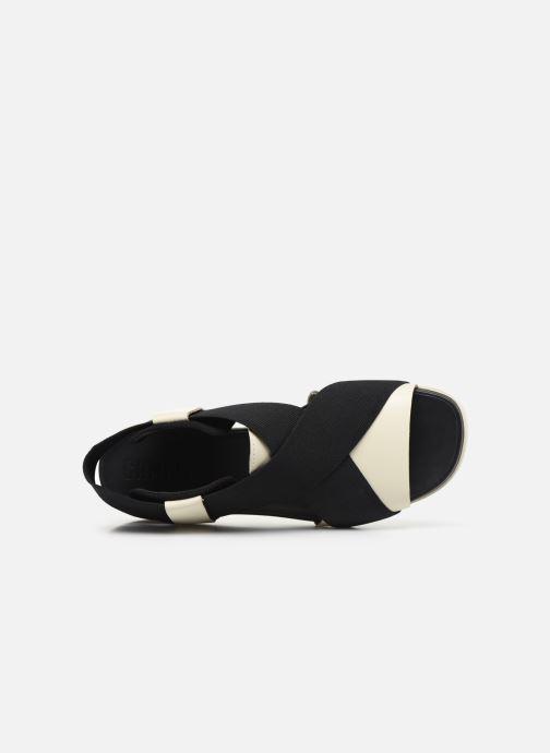 Sandali e scarpe aperte Camper ATONIK Nero immagine sinistra
