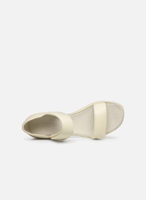 Sandali e scarpe aperte Camper UPRIGHT Bianco immagine sinistra