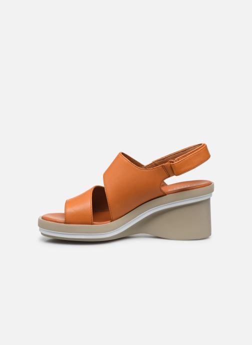 Sandali e scarpe aperte Camper KIRA II Arancione immagine frontale