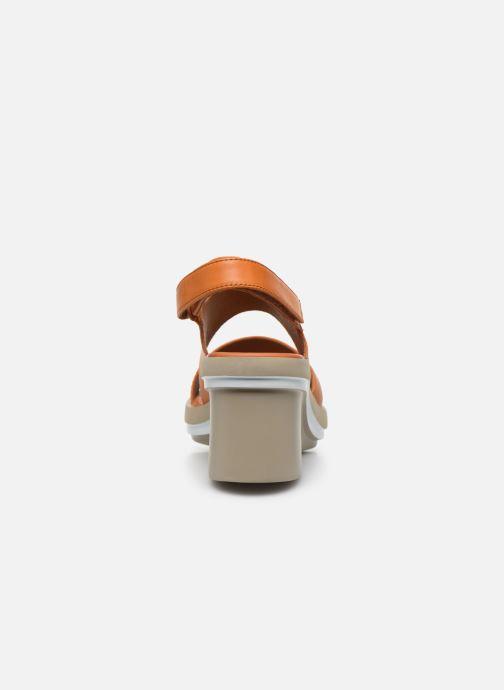 Sandali e scarpe aperte Camper KIRA II Arancione immagine destra