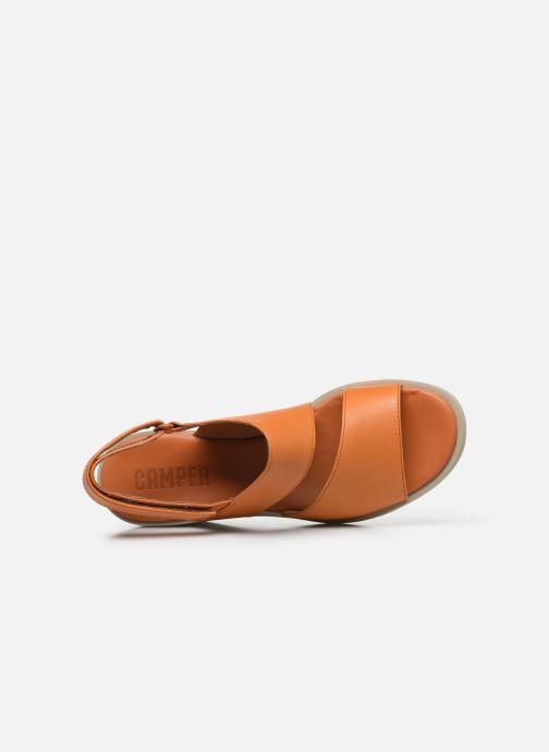 Sandali e scarpe aperte Camper KIRA II Arancione immagine sinistra