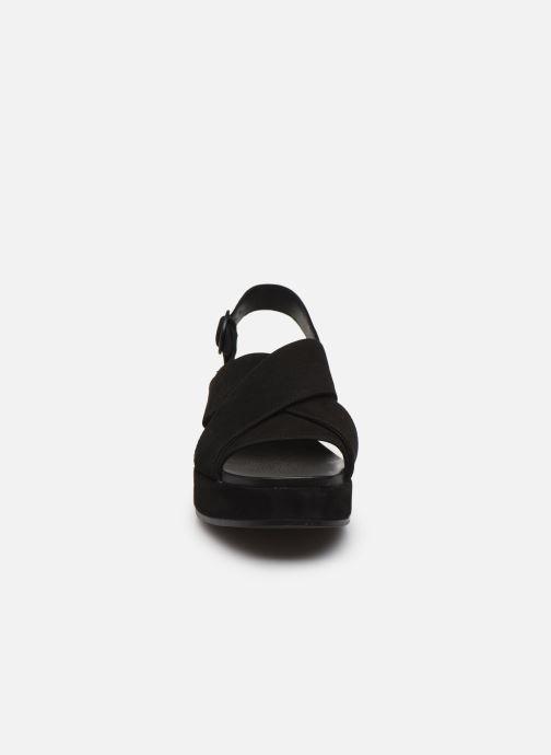 Sandales et nu-pieds Camper MISIA II Noir vue portées chaussures