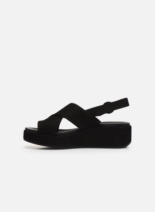 Sandales et nu-pieds Camper MISIA II Noir vue face