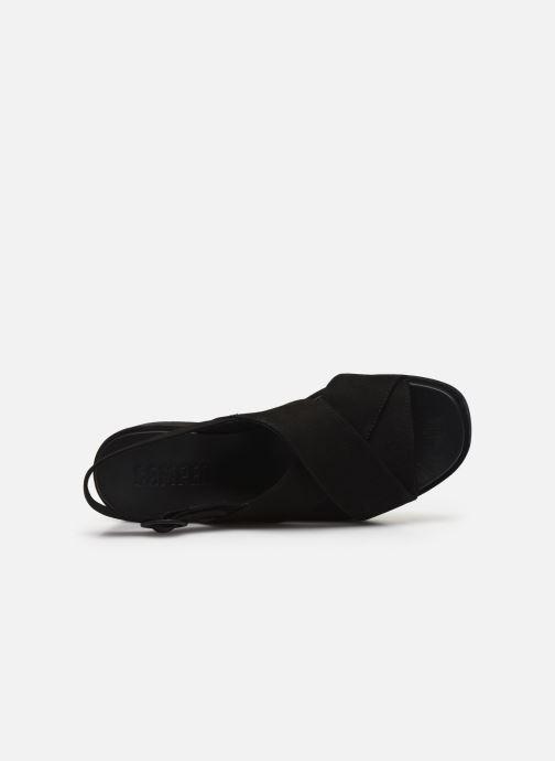 Sandales et nu-pieds Camper MISIA II Noir vue gauche