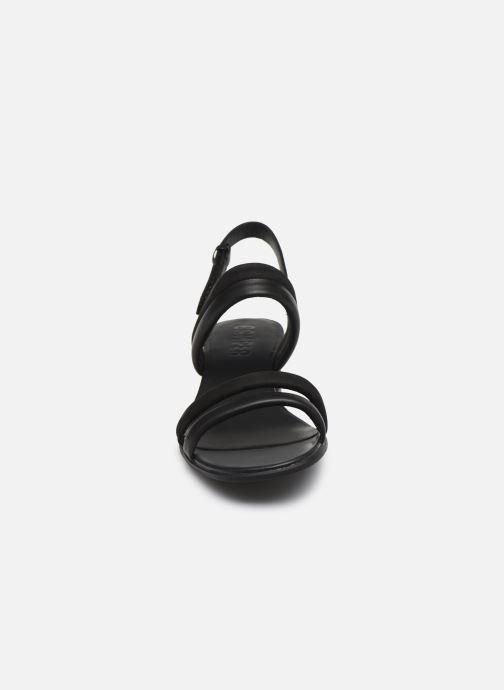 Sandali e scarpe aperte Camper KATIE Nero modello indossato