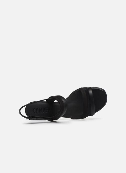 Sandali e scarpe aperte Camper KATIE Nero immagine sinistra