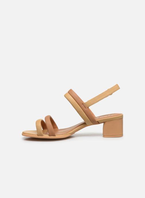 Sandali e scarpe aperte Camper KATIE Beige immagine frontale