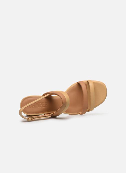 Sandali e scarpe aperte Camper KATIE Beige immagine sinistra