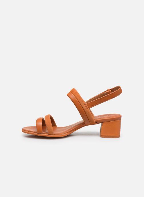 Sandales et nu-pieds Camper KATIE Orange vue face