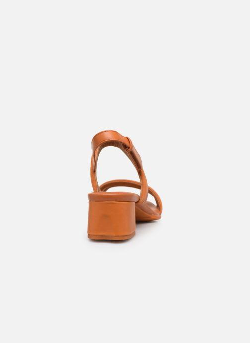 Sandales et nu-pieds Camper KATIE Orange vue droite