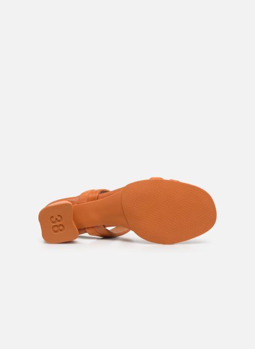 Sandals Camper KATIE Orange view from above