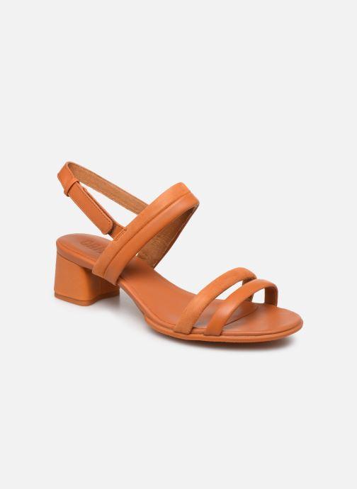 Sandales et nu-pieds Camper KATIE Orange vue détail/paire