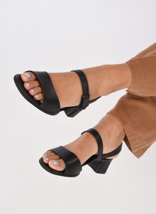 Sandales et nu-pieds Camper KATIE II Noir vue bas / vue portée sac