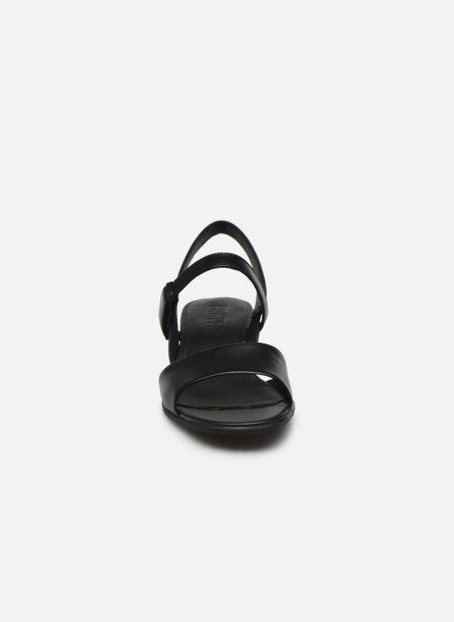 Sandales et nu-pieds Camper KATIE II Noir vue portées chaussures