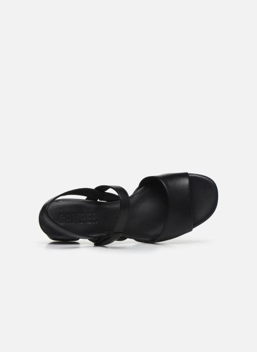 Sandales et nu-pieds Camper KATIE II Noir vue gauche