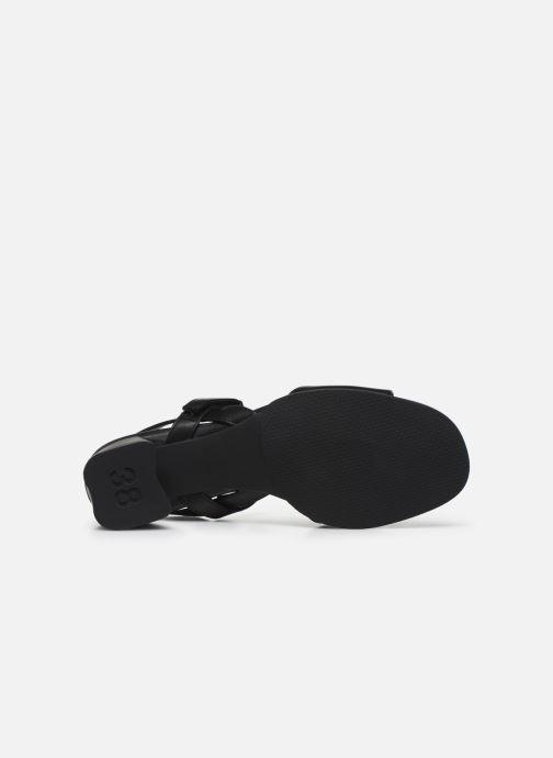 Sandales et nu-pieds Camper KATIE II Noir vue haut