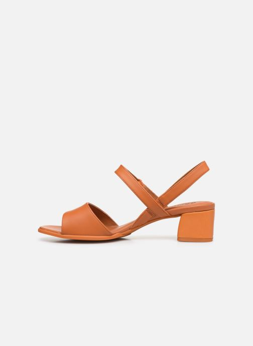 Sandales et nu-pieds Camper KATIE II Orange vue face