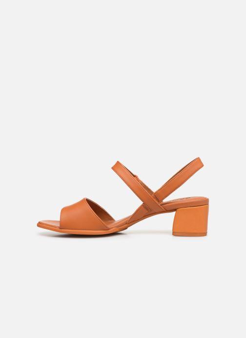 Sandali e scarpe aperte Camper KATIE II Arancione immagine frontale