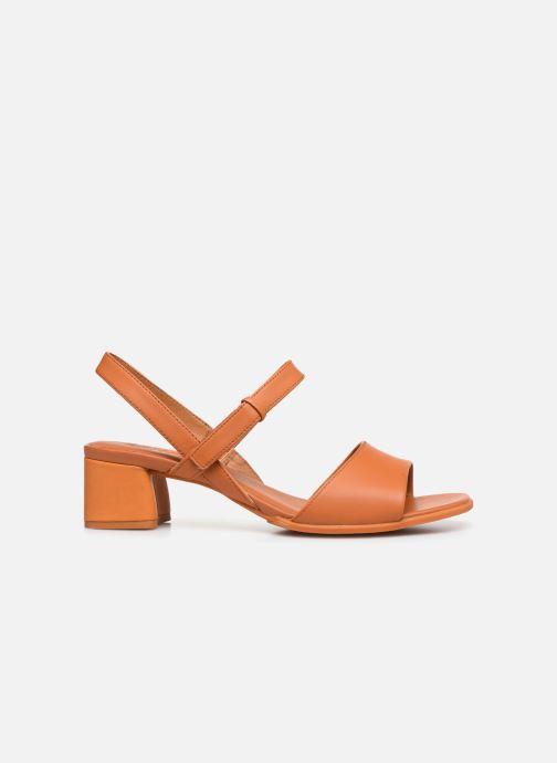 Sandales et nu-pieds Camper KATIE II Orange vue derrière