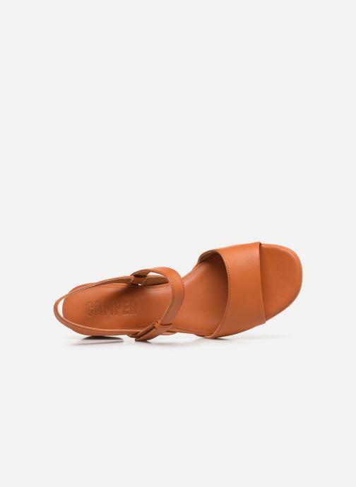 Sandales et nu-pieds Camper KATIE II Orange vue gauche