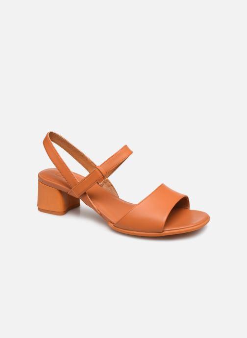 Sandales et nu-pieds Camper KATIE II Orange vue détail/paire