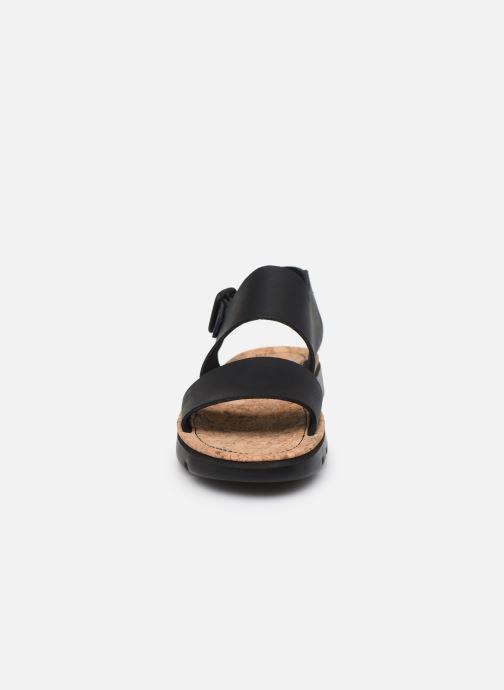 Sandales et nu-pieds Camper ORUGA II Noir vue portées chaussures