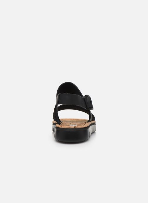 Sandales et nu-pieds Camper ORUGA II Noir vue droite